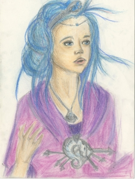 Portrait, pastel
