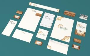 Création de l'identité visuelle de l'entreprise, dans le cadre du projet de refonte du Logotype de St-Martin de Ré - exercice dans le cadre de ma Licence Professionnelle