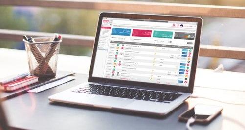 Refonte de la charte graphique et création des nouvelles maquettes pour l'espace client de Ca Compte Pour Moi - Réalisation dans le cadre d'un CDD dans la Startup Toulousaine