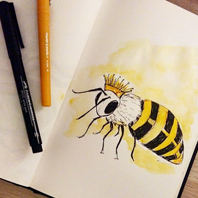 13---Queen-bee